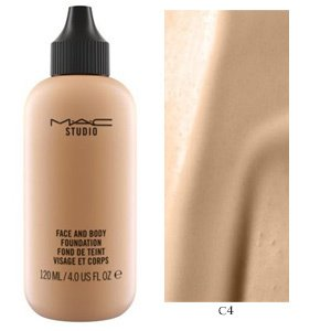 MAC Base Face and Body 120 ml - Cor C4 - comprar online