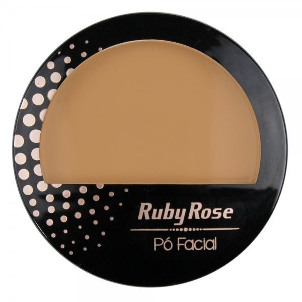 Ruby Rose Pó Compacto Facial Hb 7212 - Pc16 Café Médio na internet