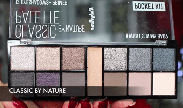 Paleta De Sombra Pocket Classic By Nature HB9943