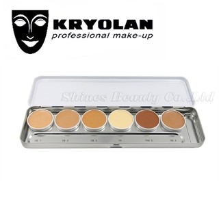 KRYOLAN Ultra Foundation Palette 6 Colors