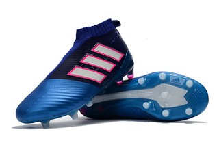 Adidas ACE 17+ PureControl FG Black Blue White 8705c165a386b