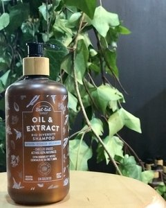 "Shampoo natural Bio Diversity ""OIL & EXTRACT"" -Cabellos grasos- 500 ml."