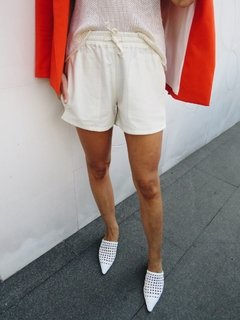 Short Fes - Off White - bela