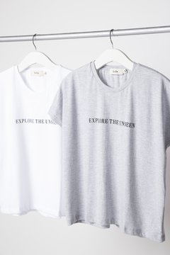 Remera Explore - Off white