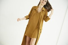 Vestido Boldo - Camel on internet