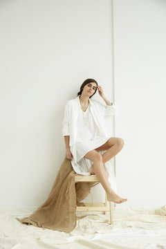 Saco Canela - Off White
