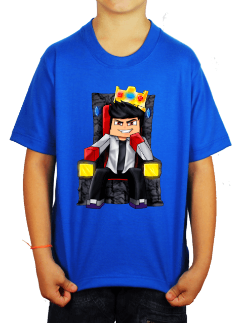 Camiseta - WiiFeroiz - Azul Royal