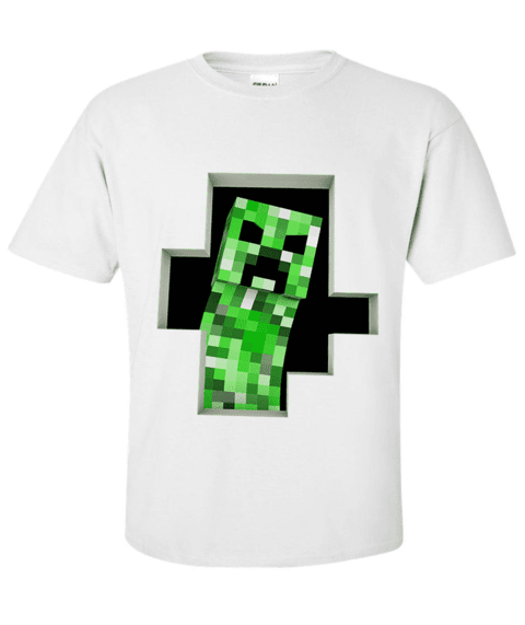 Camiseta - Creeper caverna