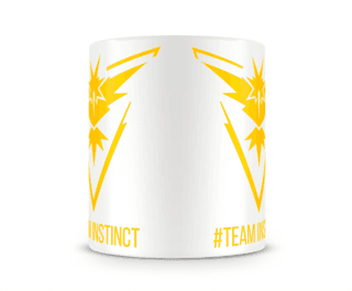 POKÉMON GO TEAM INSTINCT na internet