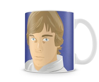 LUKE SKYWALKER ILUSTRA