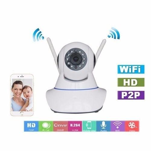 Camara Ip Wifi Hd Motorizada Rj45 06459-64820/