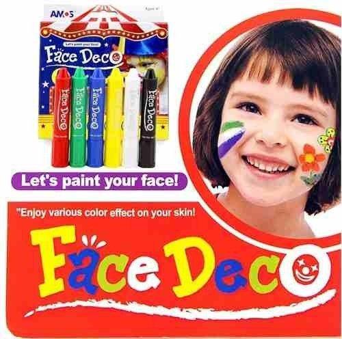 Maquillaje Artístico Infantil Adultos Lápiz Crayon Face Deco