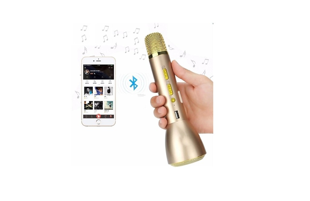 Microfono Inalambrico Karaoke Magic Bluetooth