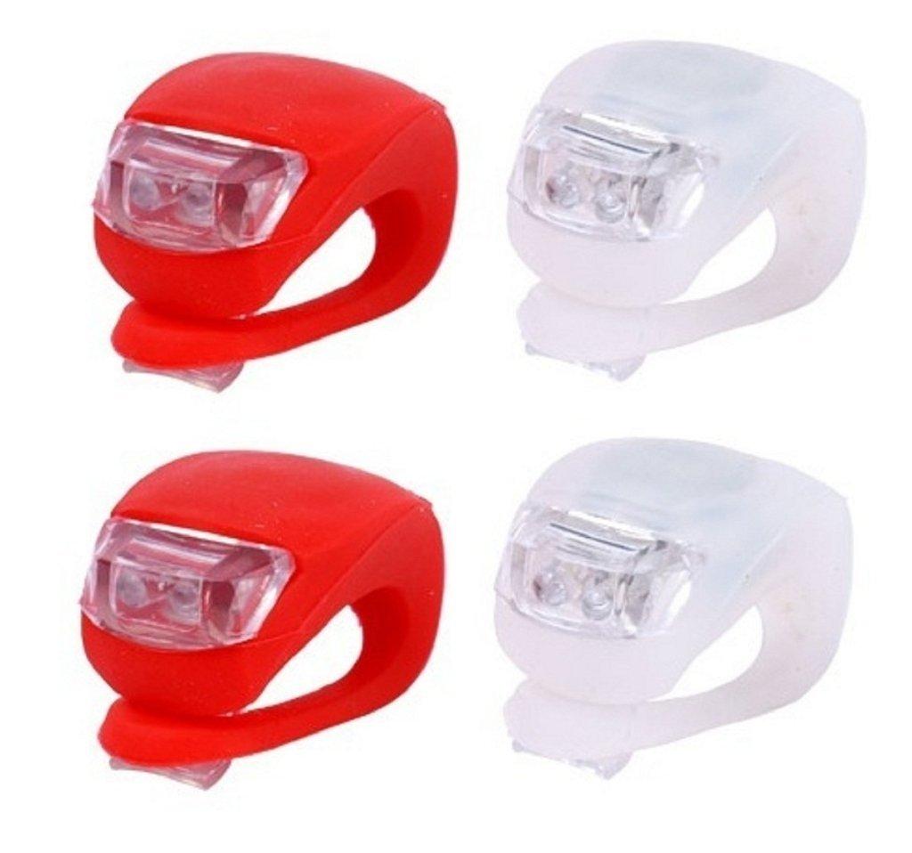 Para tu bici!: Llevate un par de increíbles luces Led blancas de silicona