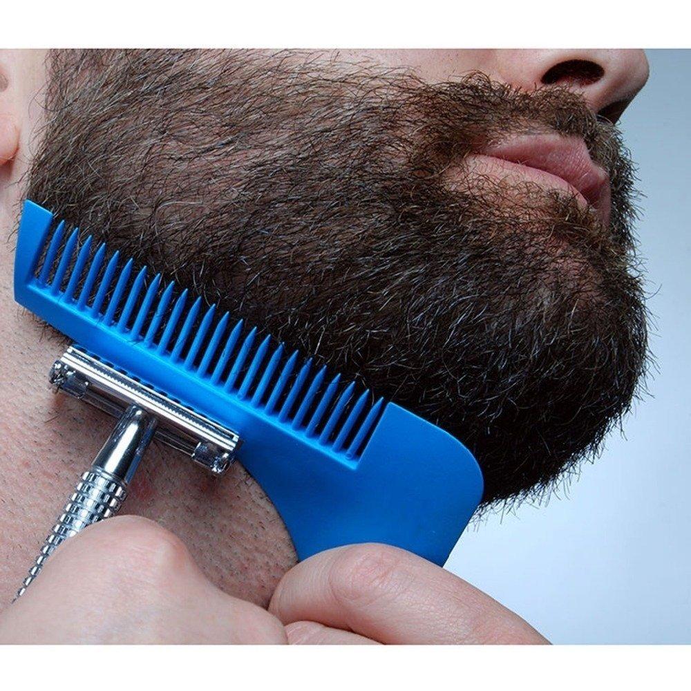Peine Para Delinear Y Modelar Barba Y Bigote