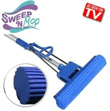 Trapeador C/ Excurridor Automatico Sweep Mop Exito Tv!!!!!!!!!!