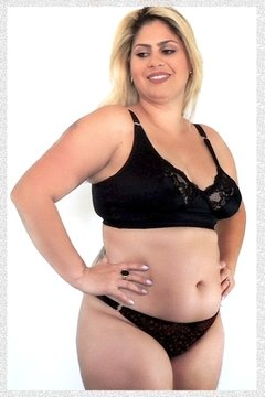 Calcinha String Flora Plus Size - Marilyn Plus
