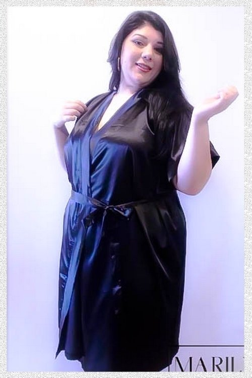 Robe Marilyn Plus Size