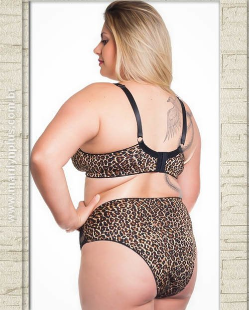 Calcinha Rosana Plus Size - Marilyn Plus