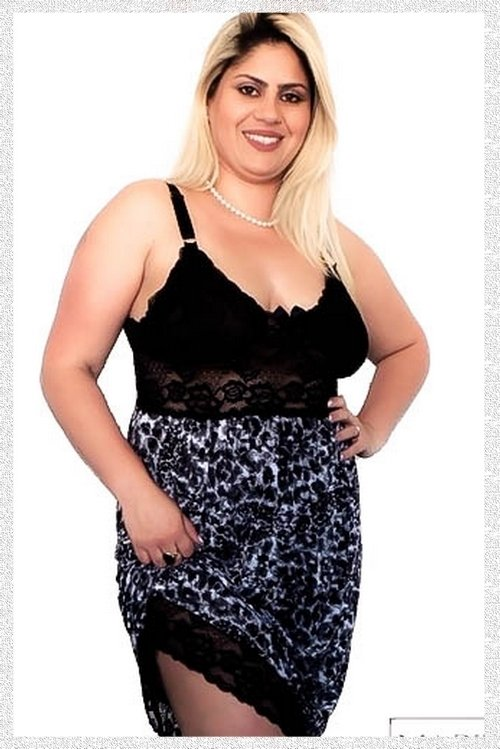 Nightdress Londres Plus Size