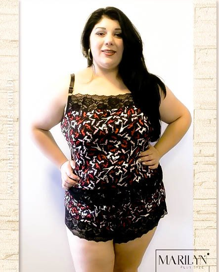 Short doll Gabriela Plus Size