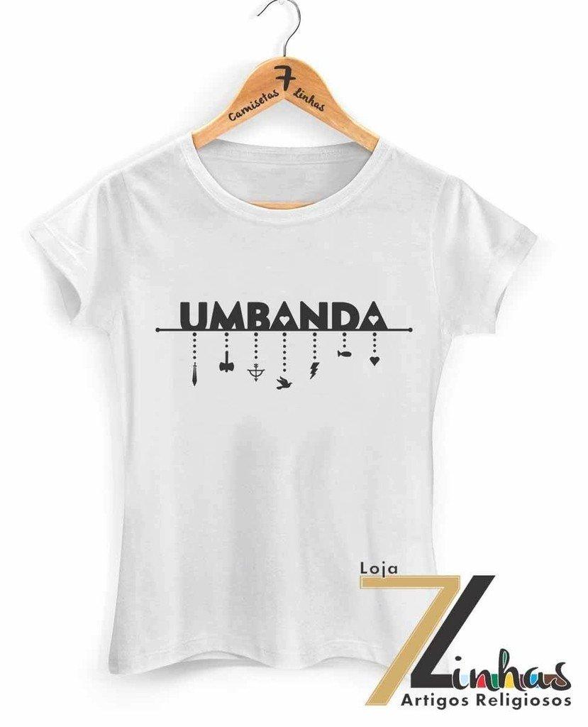 Camiseta Umbanda | Elo7