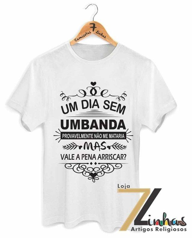 Loja 7 Linhas - Camisetas de Umbanda - Fé - Artigos