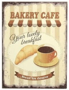 "CARTEL "" BAKERY CAFE"""