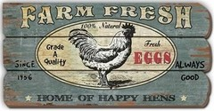 "CARTEL "" FARM FRESH"" GALLO"