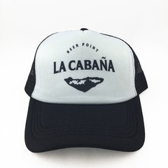 "GORRA ""LA CABAÑA BEER POINT"" en internet"
