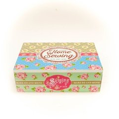 Caja de té 'Home Sewing'