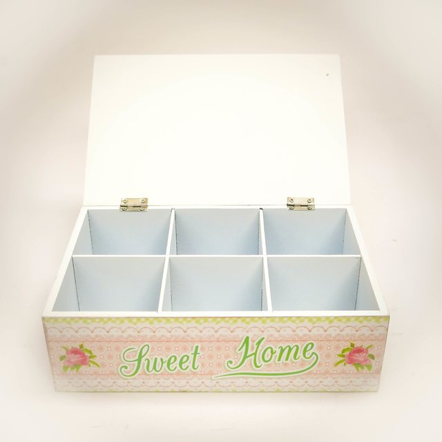Caja de té 'Faith, family and friends' en internet