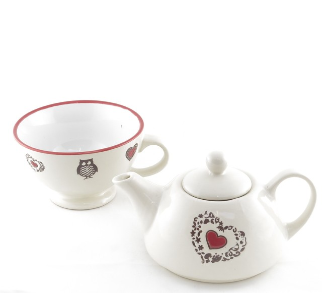 TEA FOR ONE CORAZON ROJO - comprar online