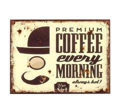 "Cartel ""Premium coffee"""