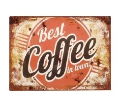 "Cartel ""Best coffee"""