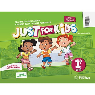 INGLÊS JUST FOR KIDS 1° ANO