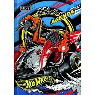 AGENDA ESCOLA HOT WHEELS 112 FLS