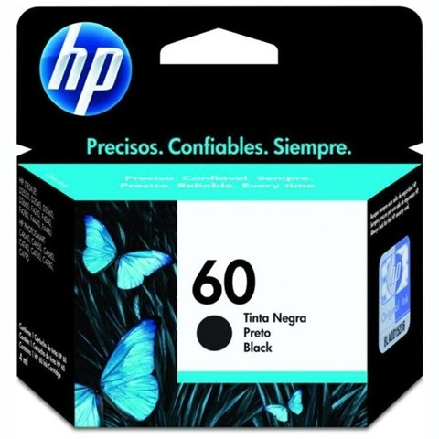 CARTUCHO HP 60XL BK 6 ML