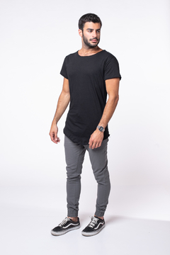 Remera Long Fit Black - comprar online