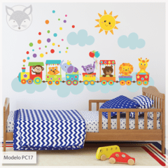 "MODELO PC17 ""ZOO TRAIN"" - tienda online"
