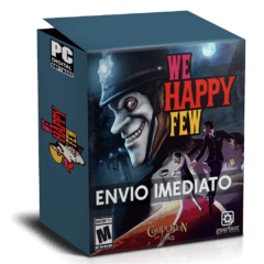 WE HAPPY FEW PC - ENVIO DIGITAL