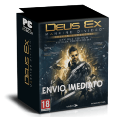 DEUS EX (MANKING DIVIDED) PC - ENVIO DIGITAL