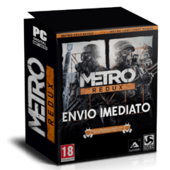 METRO REDUX (2033 + LAST LIGHT) PC - ENVIO DIGITAL