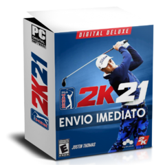 PGA TOUR 2K21 (DIGITAL DELUXE EDITION) PC - ENVIO DIGITAL