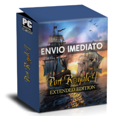 PORT ROYALE 4 (EXTENDED EDITION) PC - ENVIO DIGITAL