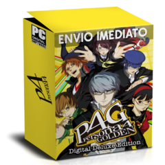 PERSONA 4 GOLDEN (DIGITAL DELUXE EDITION) PC - ENVIO DIGITAL