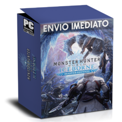 MONSTER HUNTER WORLD ICEBORNE (MASTER EDITION) PC - ENVIO DIGITAL