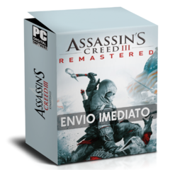 ASSASSIN'S CREED 3 REMASTERED PC - ENVIO DIGITAL