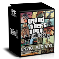 GTA SAN ANDREAS (GRAND THEFT AUTO SAN ANDREAS) PC - ENVIO DIGITAL
