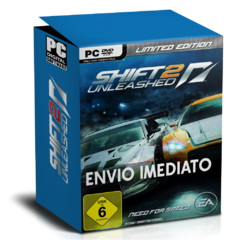 NEED FOR SPEED  SHIFT 2 UNLEASHED (LIMITED EDITION) PC - ENVIO DIGITAL